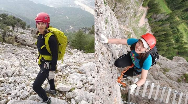 Dağ tırmanışı için Türkiye'ye gelen Yana Kryvosheıa'dan 20 gündür haber alınamıyor