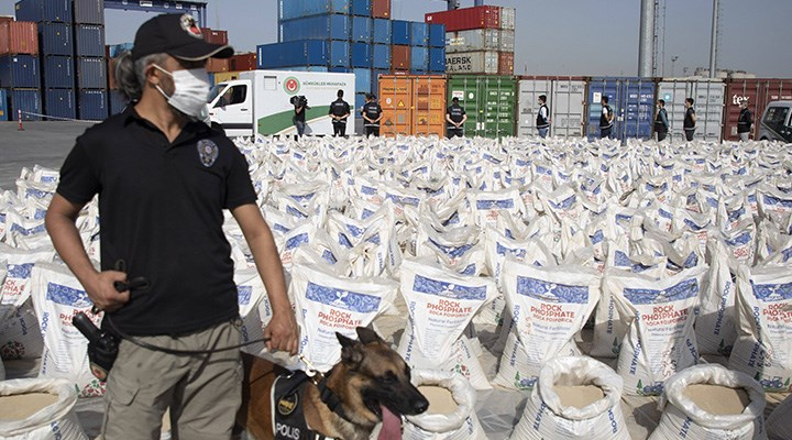 Uyuşturucuda kilit rota Türkiye
