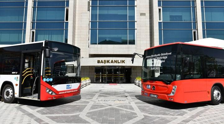 Ankara Büyükşehir Belediyesi, 377 adet otobüs alımı için sözleşme imzaladı