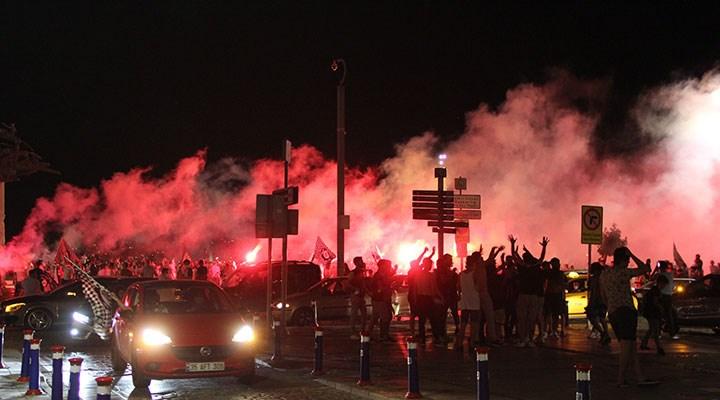 Altaylı taraftarlardan Süper Lig kutlaması