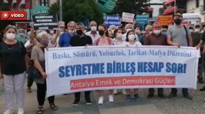 Antalya Emek ve Demokrasi Güçleri: Karanlığa teslim olmayacağız