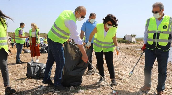 Deniz çöpleri izleme projesinin ilkbahar etabı gerçekleşti
