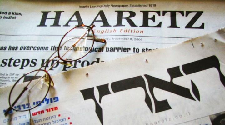 İsrailli gazete Haaretz'den tarihe geçecek manşet: Öldürülen Filistinli çocukların fotoğrafları kapakta