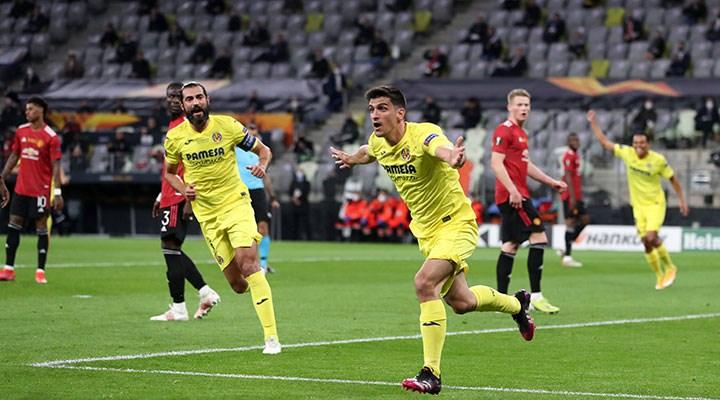Manchester United'i yenen Villarreal, UEFA Avrupa Ligi kupasını kazandı