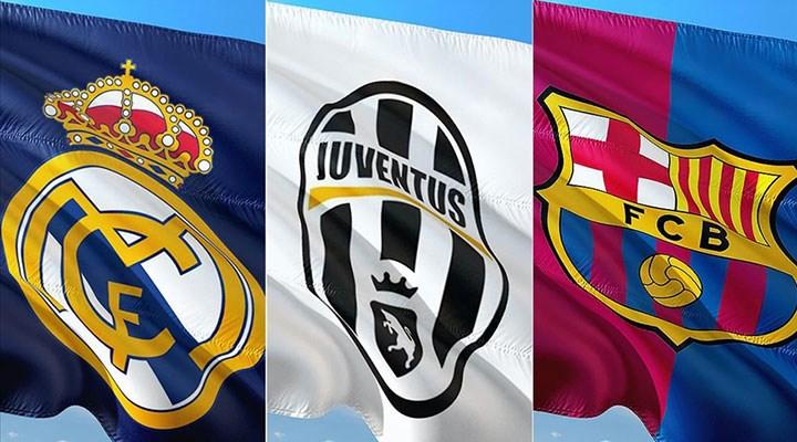 Real Madrid, Juventus ve Barcelona'dan UEFA'ya karşı ortak açıklama