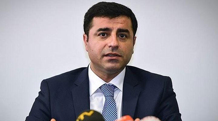 Selahattin Demirtaş'a iki yıl altı ay hapis cezası