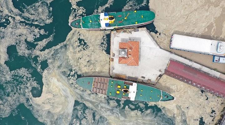 """Bilim insanları deniz salyası tehdidini incelemek için Marmara'ya açıldı: """"20 yıl önceki yoğunluktan çok farklı"""""""