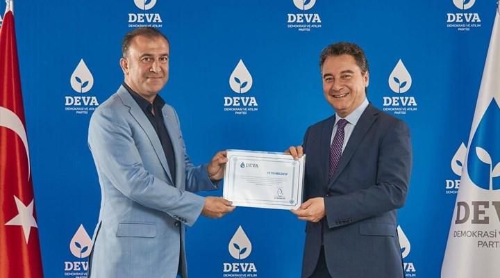 DEVA Partisi İstanbul İl Yönetimi görevden alındı