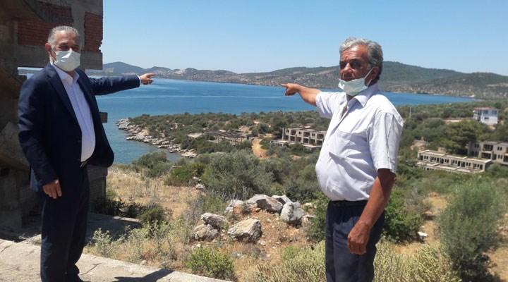 CHP'li Özcan uyardı: Güllük Körfezinde de deniz salyaları meydana gelecek