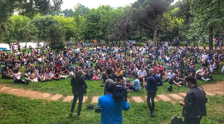 Redd grubu Maçka Parkı'nda konser verdi; yandaş medya sanat ve yaşam düşmanlığını gösterdi