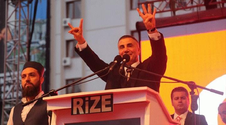 Sedat Peker, AKP için Rize dışında 9 yerde daha miting yaptığını açıkladı