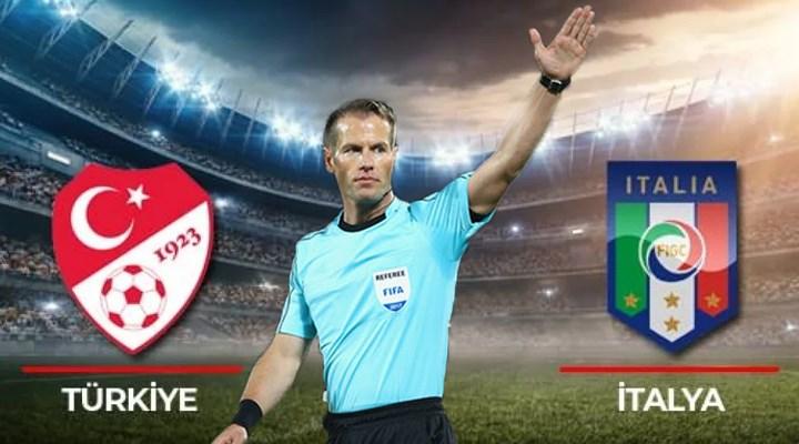 Türkiye - İtalya maçını Danny Makkelie yönetecek