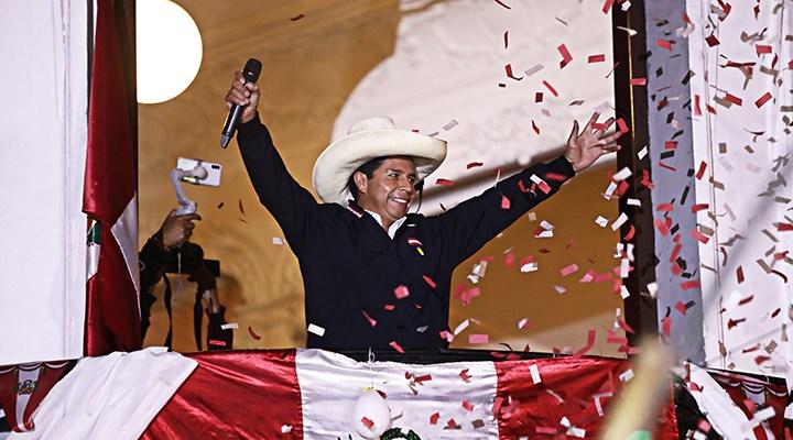 Peru seçimlerinden ilk sonuçlar açıklandı: Sosyalist aday Castillo önde