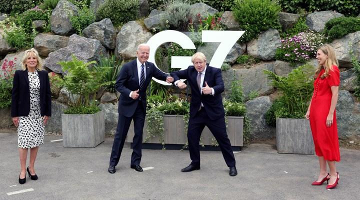 ABD Başkanı Biden, İngiltere Başbakanı Johnson'la Kuzey İrlanda'yı görüştü