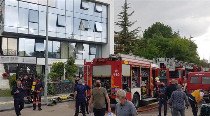 Ankara'da huzurevi yangını