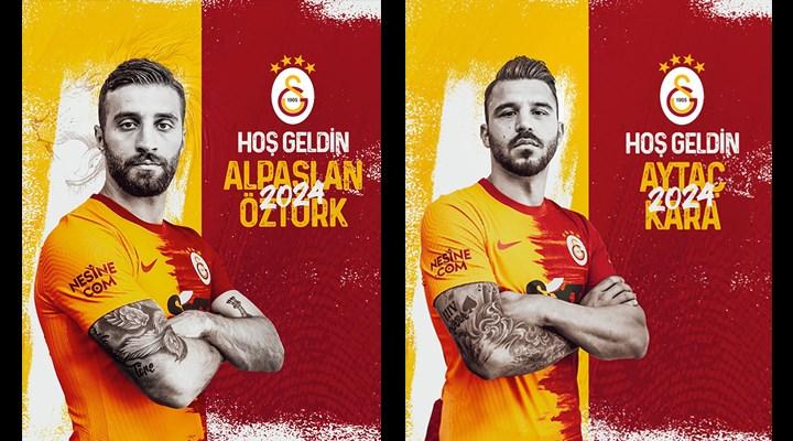 Galatasaray, Alpaslan Öztürk ve Aytaç Kara transferlerini açıkladı