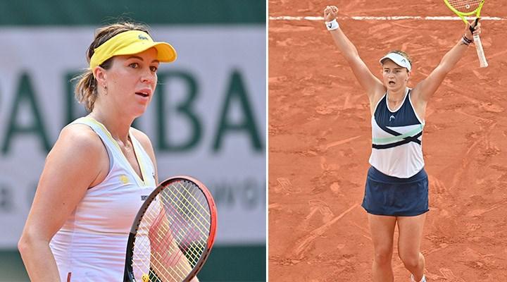 Roland Garros tek kadınlarda Pavlyuchenkova-Krejcikova finali oynanacak