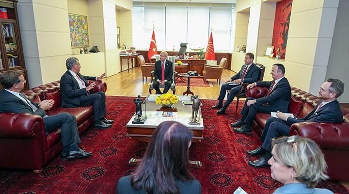TÜSİAD yönetiminden CHP'ye ziyaret