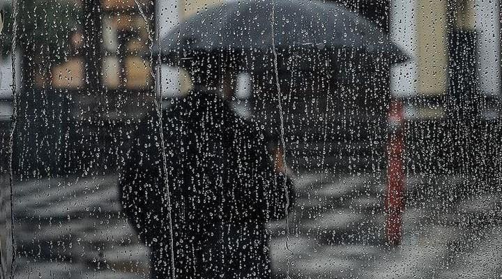 Meteoroloji'den yurdun 5 bölgesindeki çok sayıda kent ve mevki için sağanak uyarıları