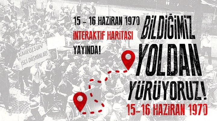 15-16 Haziran: Türkiye işçi sınıfının en görkemli direnişinin interaktif haritası hazırlandı