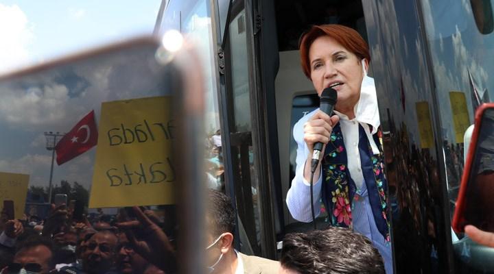 Akşener, Adana'da: 'Seçimi isteyin, seçimi getirin' diye vatandaşın bir talebi var
