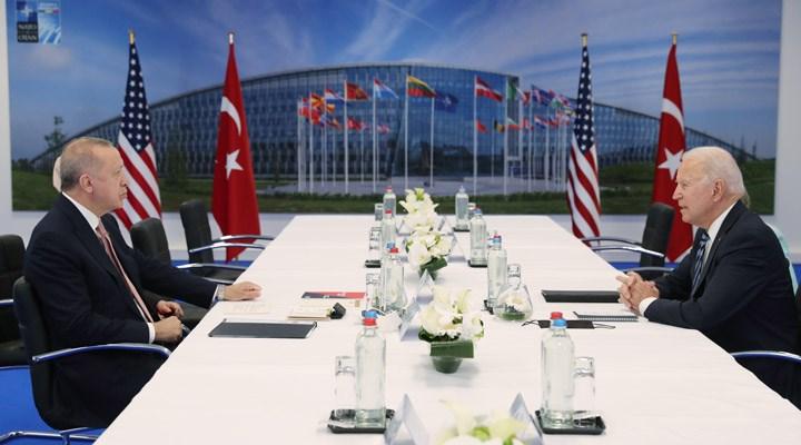 Biden ile görüşen Erdoğan: Yararlı ve samimi bir görüşme oldu