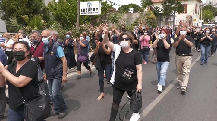 İzmir'de depremzedeler isyanda: Çadırda kalacağız!