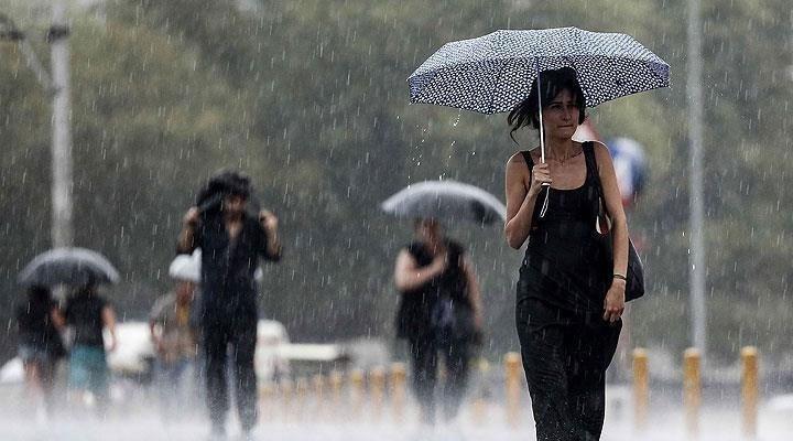 Meteoroloji saat verdi: İstanbul'da kuvvetli yağış bekleniyor