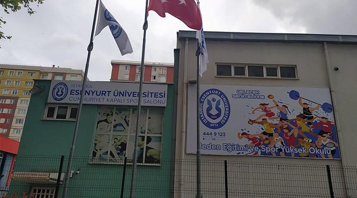 Özel üniversiteye özel spor salonu!