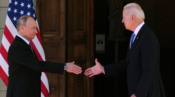 ABD Başkanı Biden ile Rusya Devlet Başkanı Putin arasındaki zirve başladı