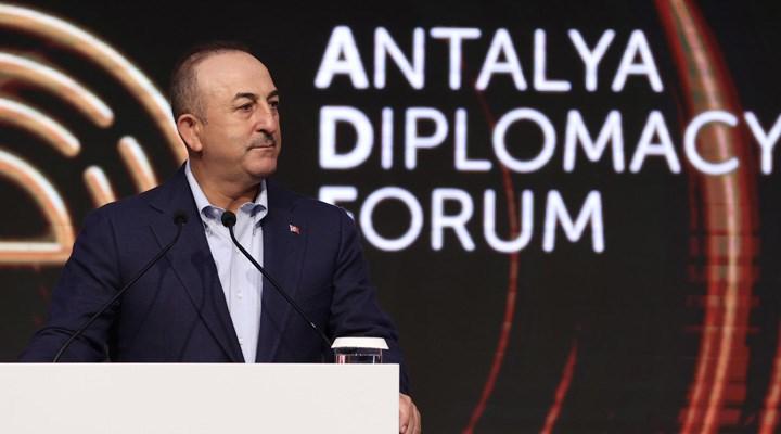 Çavuşoğlu, Antalya Diplomasi Forumu'yla ilgili konuştu: Liberal bir tartışma platformu olmasını istiyoruz
