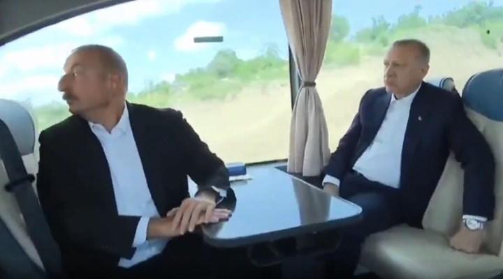 Erdoğan'la Aliyev arasında Kolin-Cengiz diyaloğu: 'Onlar her yerde var'