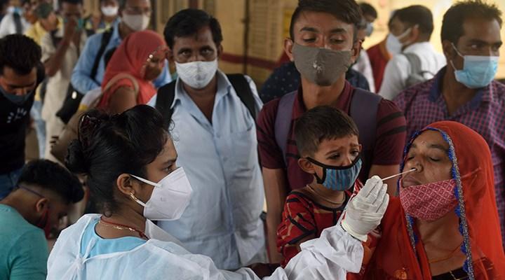 """İlk kez görüldü: Hindistan'da """"yeşil mantar"""" enfeksiyonu"""