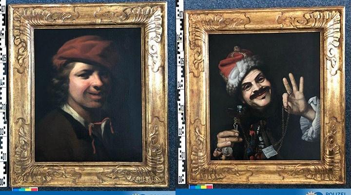 Almanya'da çöpte 17. yüzyıla ait iki tablo bulundu