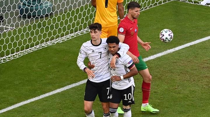 Almanya, Portekiz'i güzel futbol ve 4 golle geçti