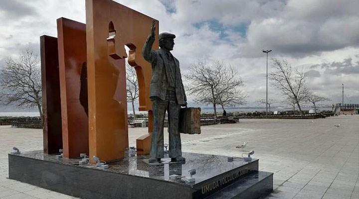 Umuda Yolculuk' Anıtı açıldı