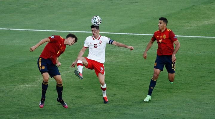 İspanya ikinci maçında da galibiyet göremedi; Polonya ilk puanını aldı