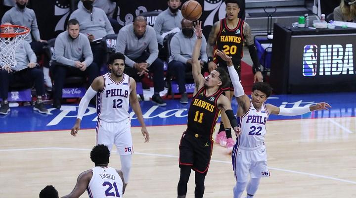 NBA'de Atlanta Hawks, Doğu Konferansı finaline yükseldi