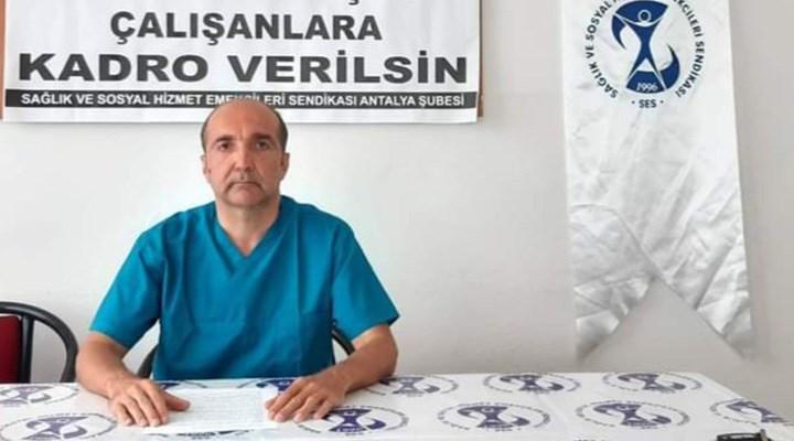 SES Antalya: Bakan, 'Güvenin' dediği güce katkısı olan aile sağlığı çalışanlarını görmüyor