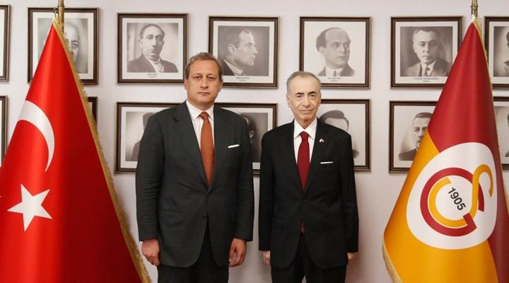 Galatasaray'da devir teslim töreni yapıldı