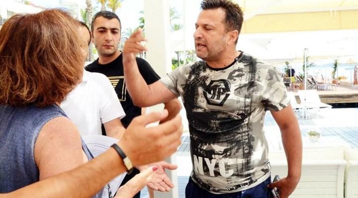 Rizespor Teknik Direktörü Bülent Uygun, çevre savunucularının üstüne yürüdü!