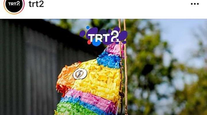 TRT2, Instagram paylaşımını 'gökkuşağı renkleri var' diye sildi