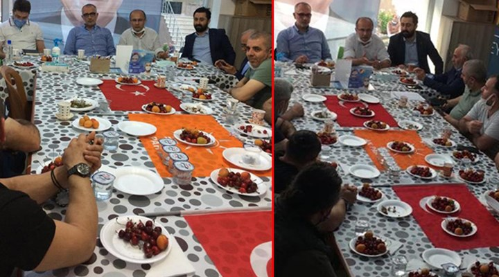 Türk bayrağını sofra bezi yapan AKP'li başkandan açıklama