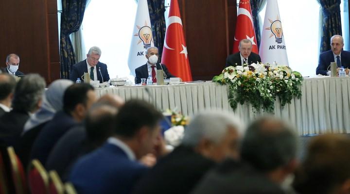 Erdoğan, AKP'li vekillerle bir araya geldi: 'Bakanlıkların uygulamaları istişare edildi'