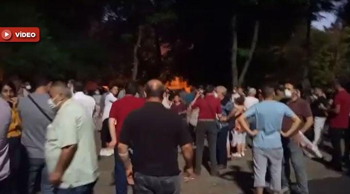 Tozkoparan'da sokaklar yine karanlığa boğuldu: Halk aç, uykusuz nöbette