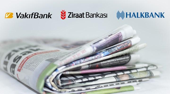 Kamu bankaları, yandaş olmayan gazetelere 1 santim ilan bile vermedi