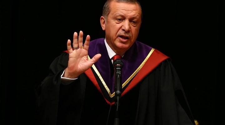 YÖK: Cumhurbaşkanı'na verilen fahri doktoraların verisi yok