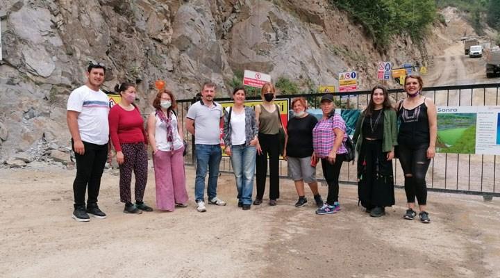 SOL Parti, İkizdere halkının yanında: Hangi dağ efkarlıysa oradayız