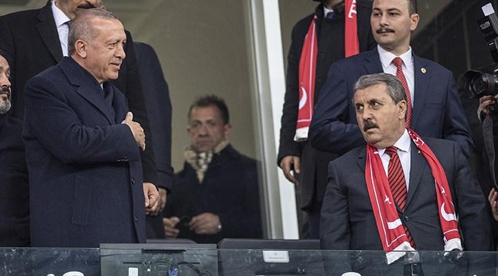Destici'den Erdoğan'a iki ayrı gönderme