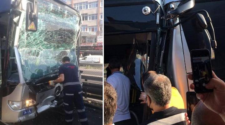 İstanbul'da metrobüs kazası: 24 yaralı